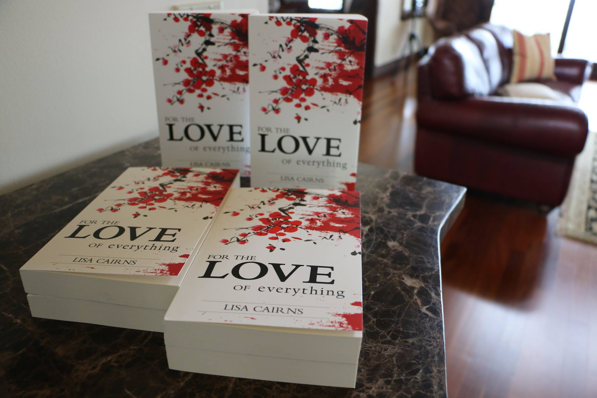 Lisa Cairns' New Book – FOR THE LOVE OF everything