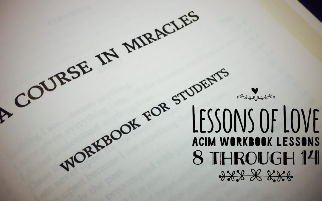 ACIM Workbook Lessons